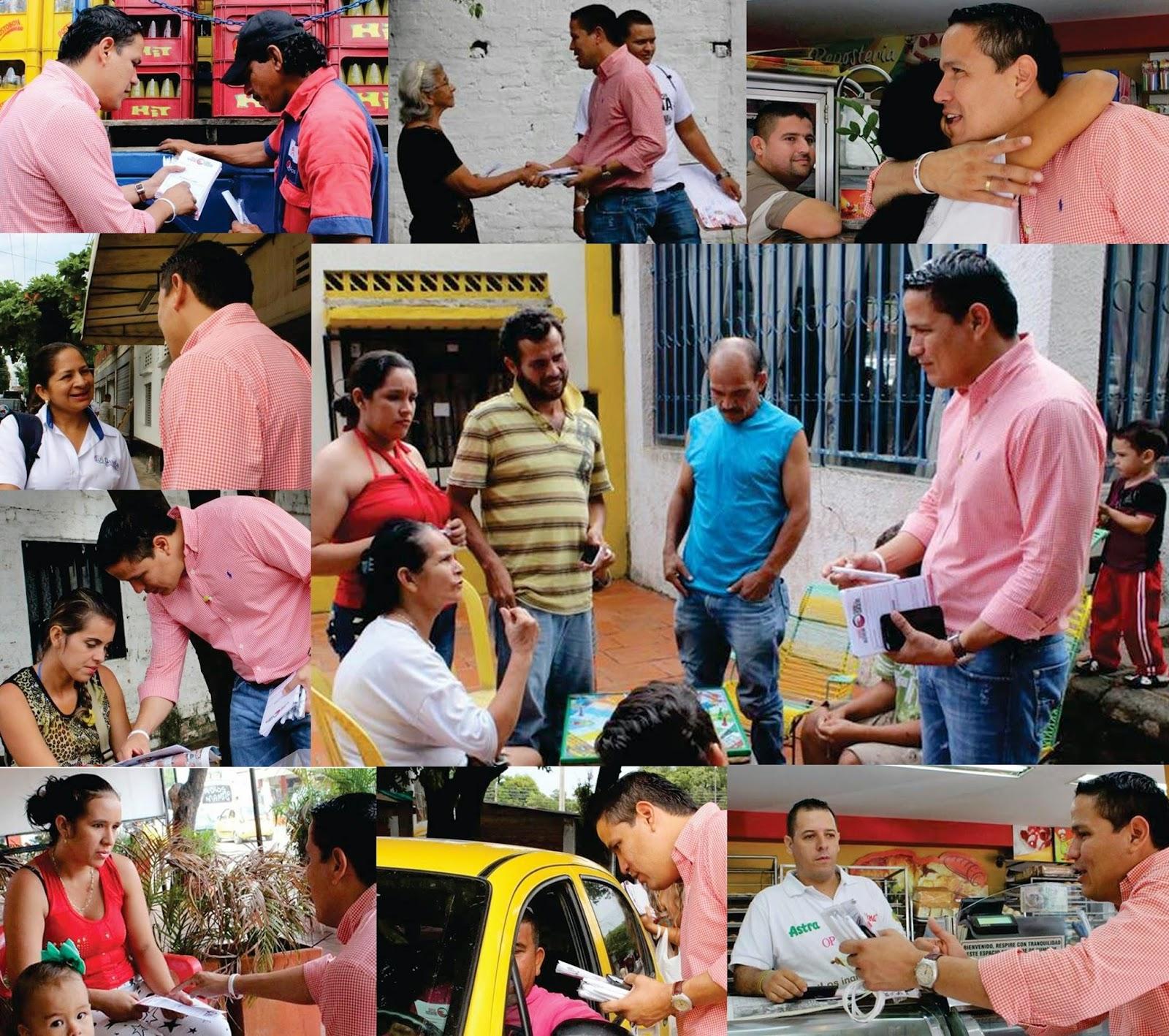 En barrio Aeropuerto, la comunidad cree y apoya a Jorge Acevedo: Todos por Cúcuta