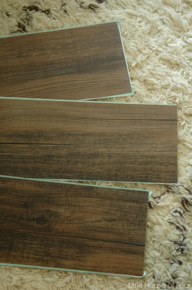 Planks for bookcase update