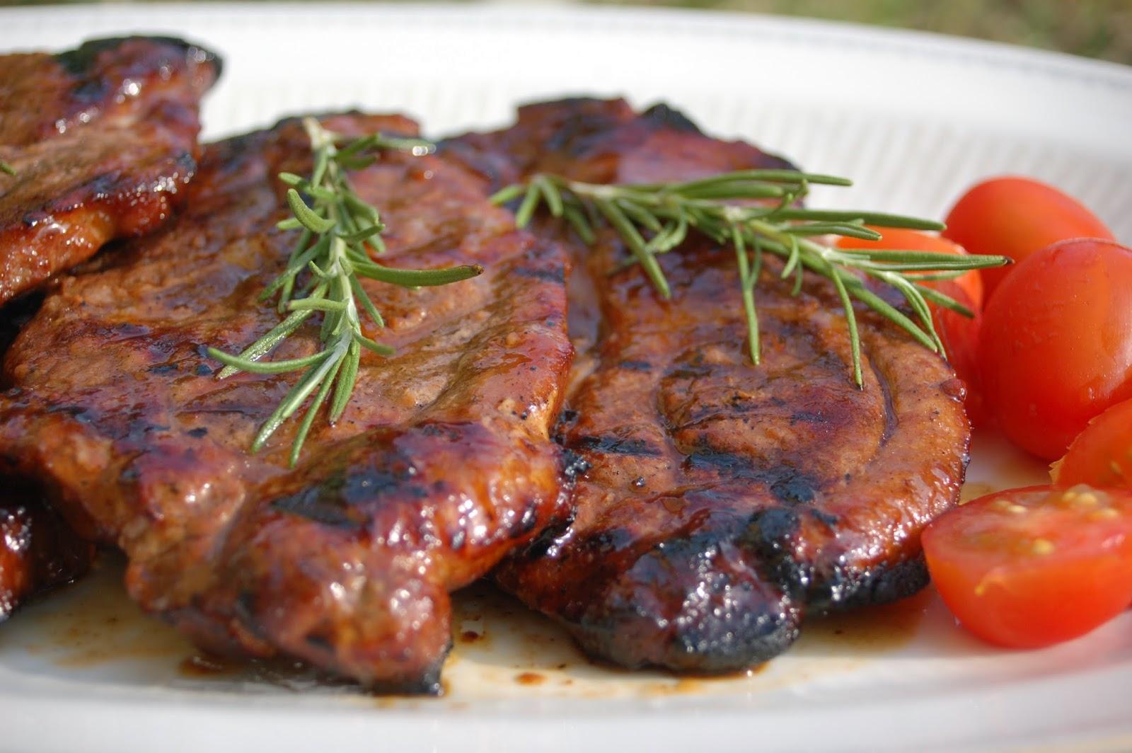 Mehevää porsasta grillistä