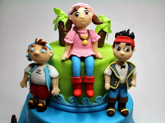 Jake and the Never Land Pirates Birthday Cake, London