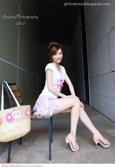 Li-Fan-Pink-and-White-09-very cute asian girl-girlcute4u.blogspot.com