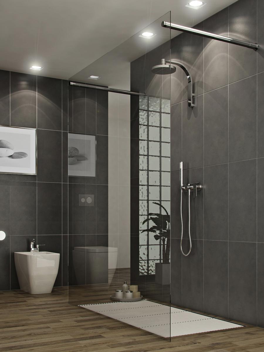 R nover une douche meuble salle de bain for Renover porte meuble salle de bain