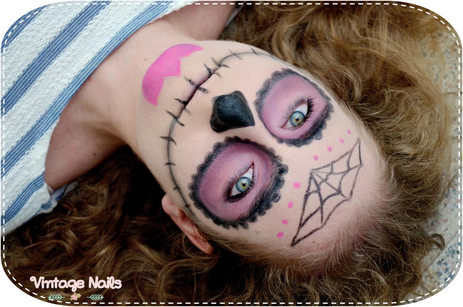 halloween, halloweeen makeup, makeup, sugar skull, costume, maquillaje, sugar skull makeup, maquillaje calavera, calavera