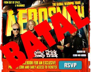 Konser Aerosmith Batal
