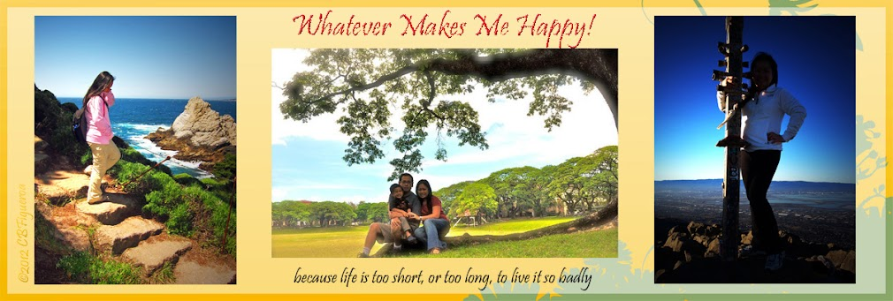 whatever makes me happy!