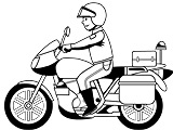 Motos de Polícia