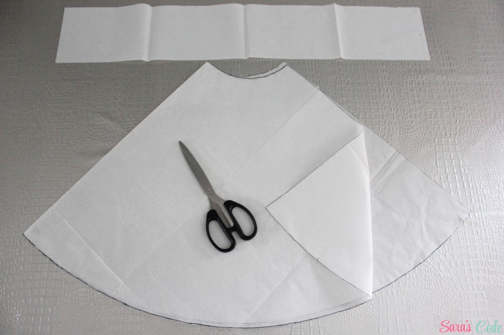 DIY Falda circular con vuelo (Parte I) ~ Sara\'s Code: Blog de ...