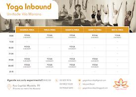 Horários Yoga Inbound Vila Mariana