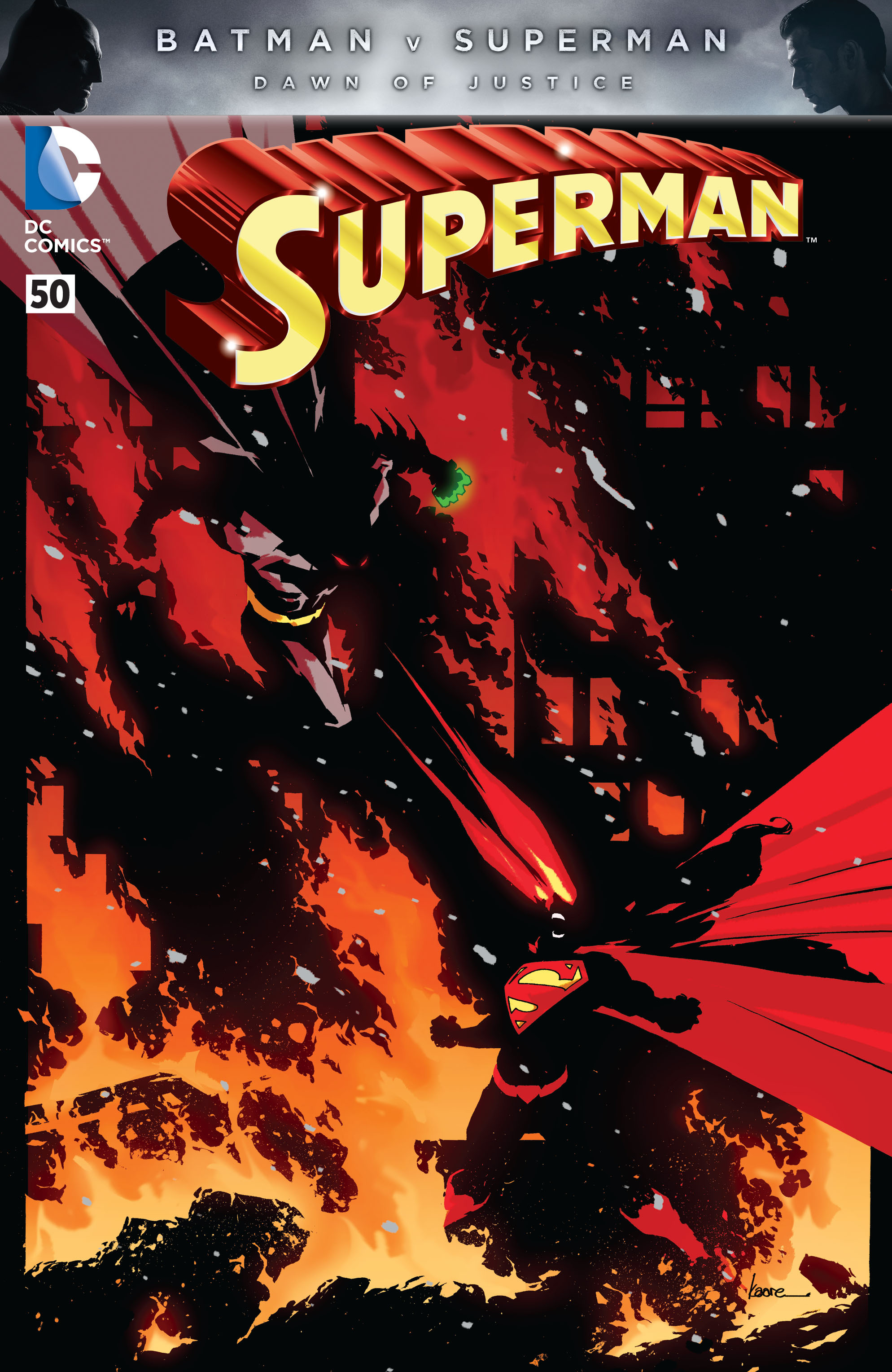 Read online Superman (2011) comic -  Issue #50 - 5