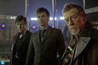 David Tennan, Matt Smith y John Hurt