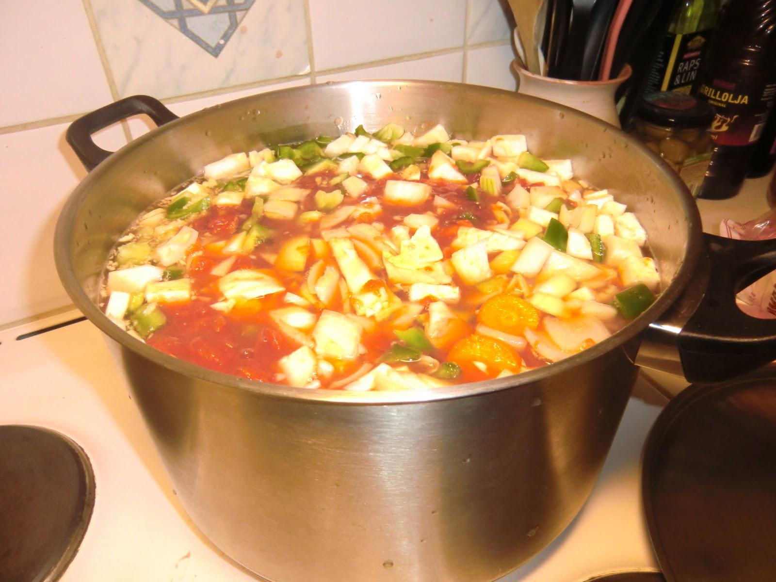 bantarsoppa med vitkål