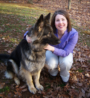 Heather Gilbert and her dog