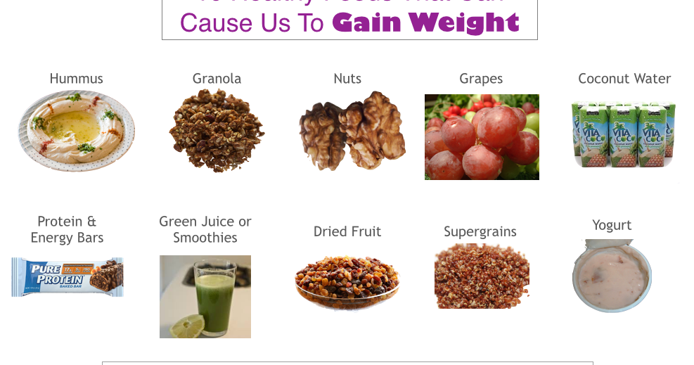 10 healthy foods that can cause us to gain weight gina millers 10 healthy foods that can cause us to gain weight gina millers blog a blog about upgrading your game forumfinder