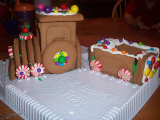 Edible Gingerbread Train