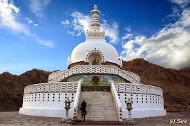 Shanti Stupa Ladhak India