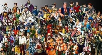 Suikoden II (All Characters)
