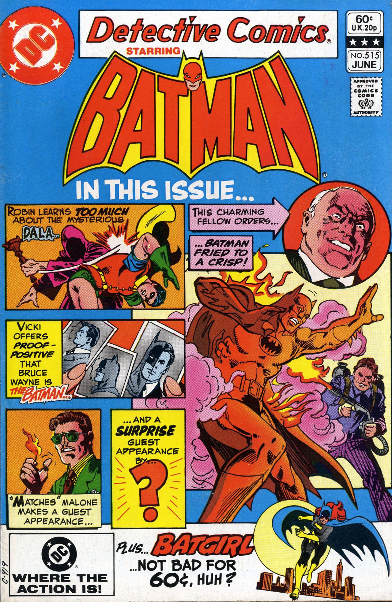 Detective Comics (1937) 515 Page 1