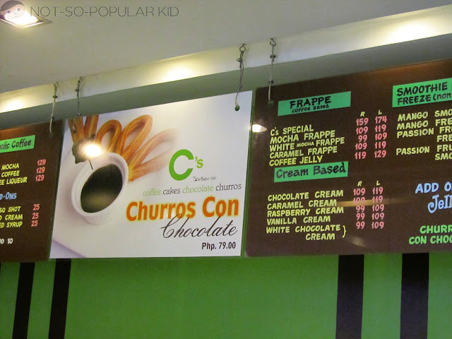 Churros, Frappes, Desserts and Etc in C's