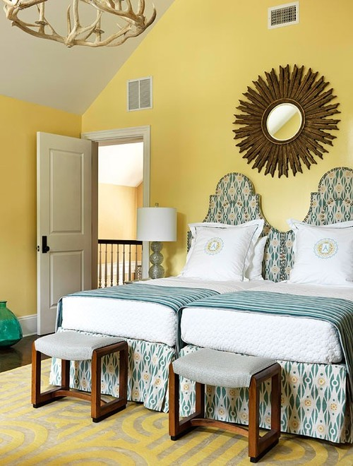 from whimsical to mellow more yellow bedrooms the glam pad trendy and timeless 20 kids rooms in yellow and blue