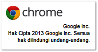 google chrome,chrome,hak cipta chrome