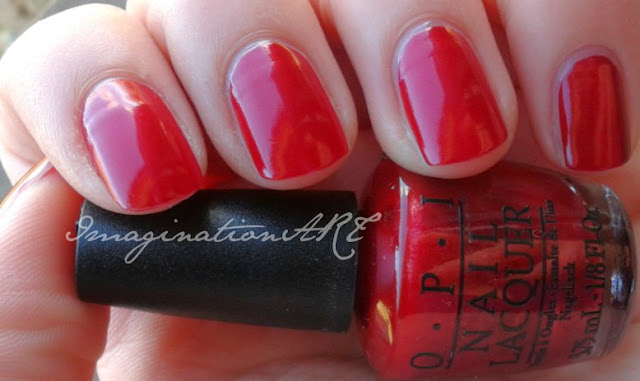 opi wocka wocka muppets swatch smalto nail polish unghie red rosso