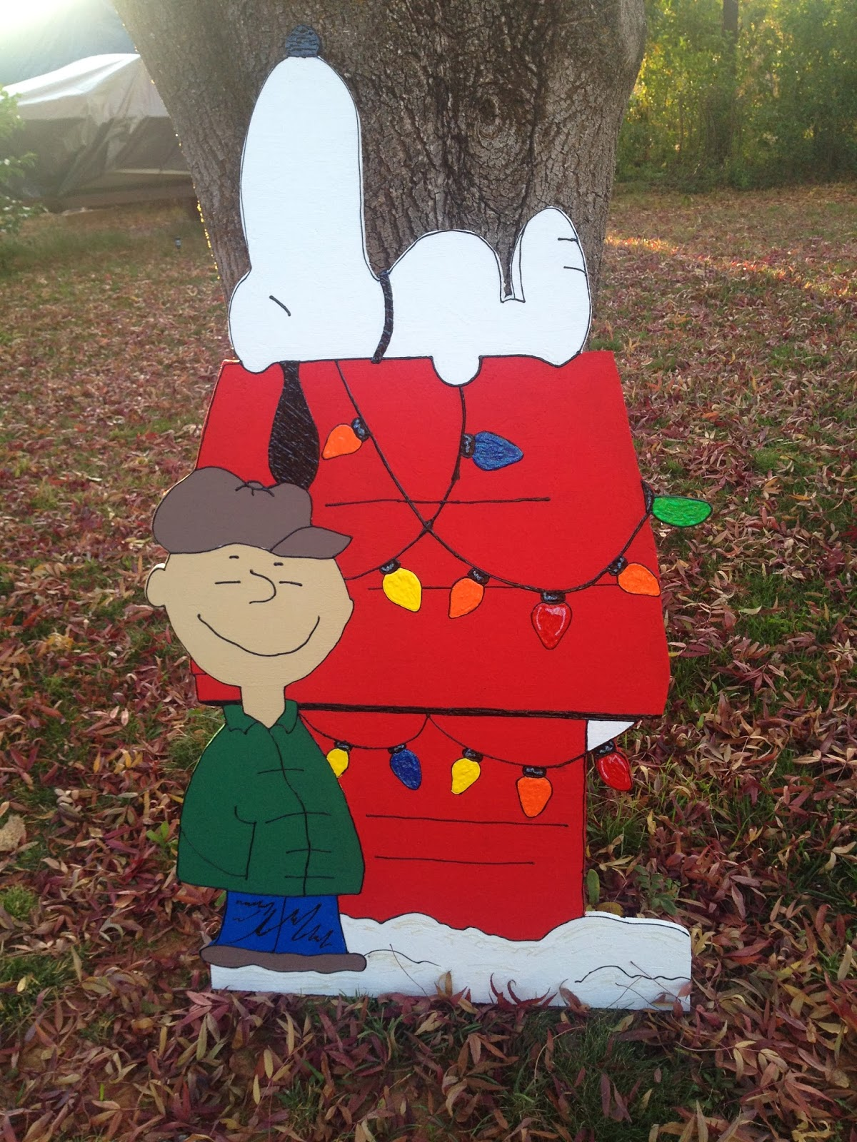 easy charlie brown christmas decorations