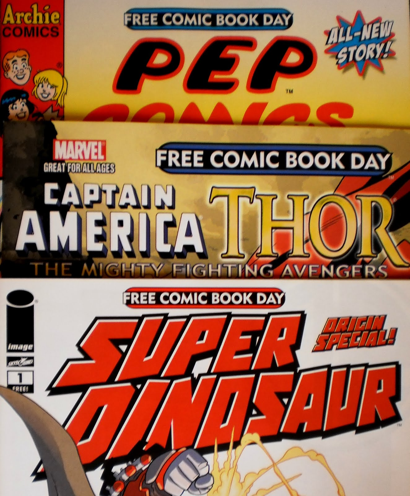 Free Comic Book Day España: COMIC APOCALIPSIS: Llegaron Los Cómics Del Free Comic Book