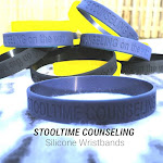 Stooltime Counseling Silicone Wristbands: