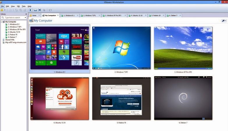 VMware Workstation 10.0.2 Full Key,Chương trình tạo máy ảo số 1 hiện nay