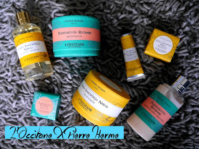 L'Occitane Pierre Herme Grapefruit Rhubarb Jasmine Immortelle Neroli collection review
