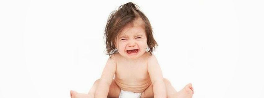 Belle couverture facebook bébé faché