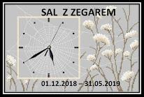 SAL - zegar z pajęczyną