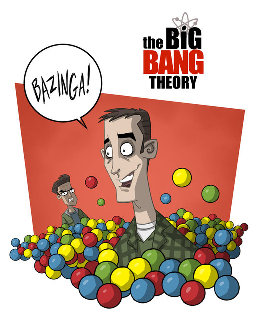 The Big Bang Theory 13 por OtisFrampton