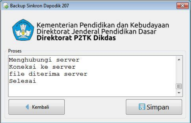 Cara Mengirim Data Dapodikdas Lewat BSD 207