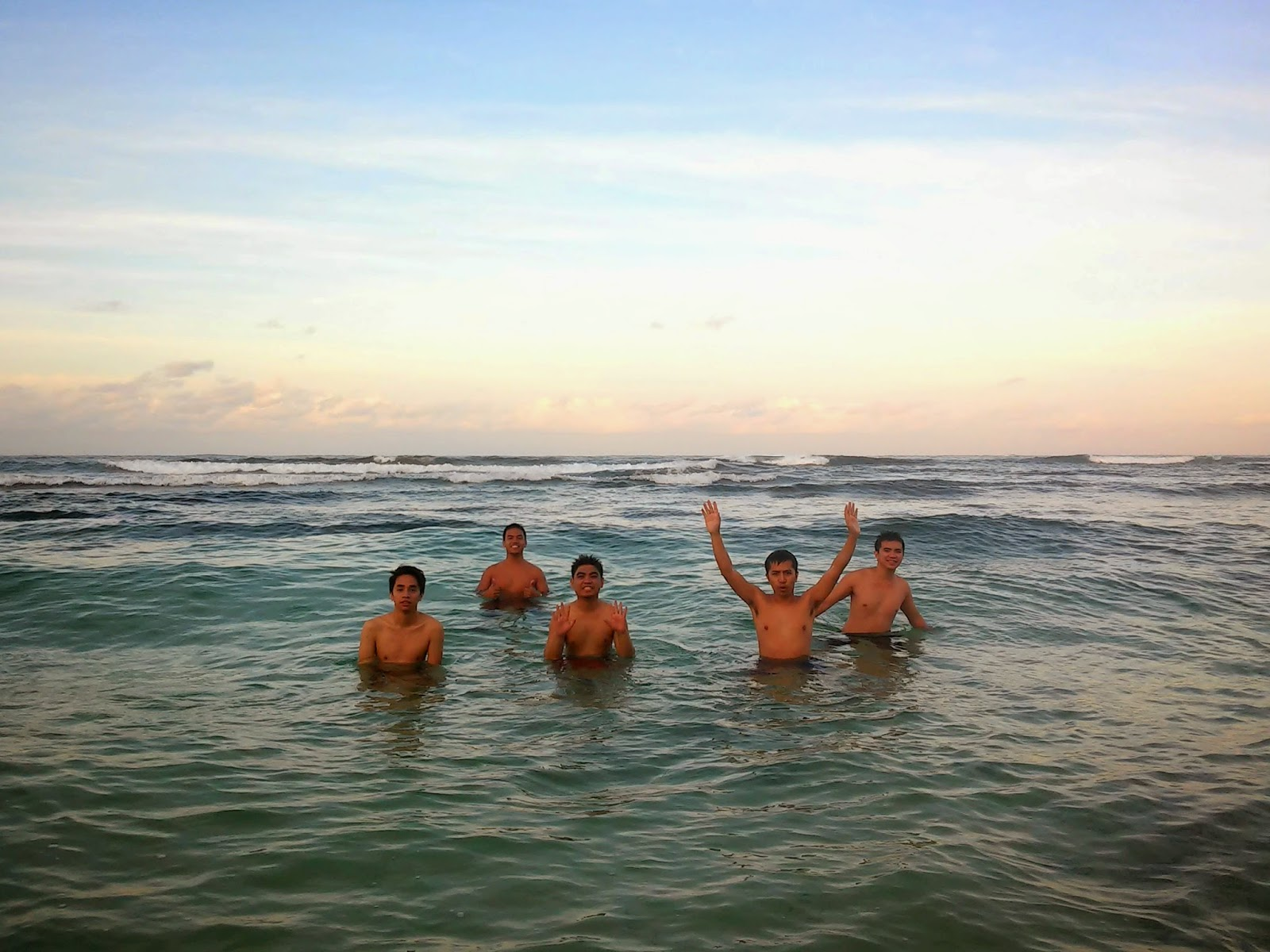 Early Morning Dip Patar Beach