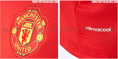 Jersey Home Manchester United 2015-2016