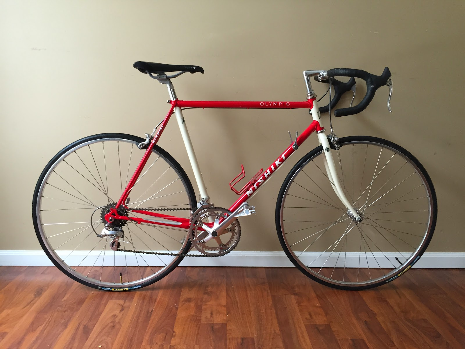 John S Bicycle Restorations 1988 Nishiki Olympic Restoration
