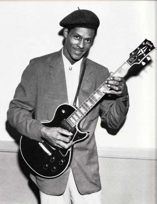 chuck berry how tall