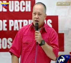 Cabello: Para impulsar la Revolución no puede haber opositores en cargos de dirección del Estado