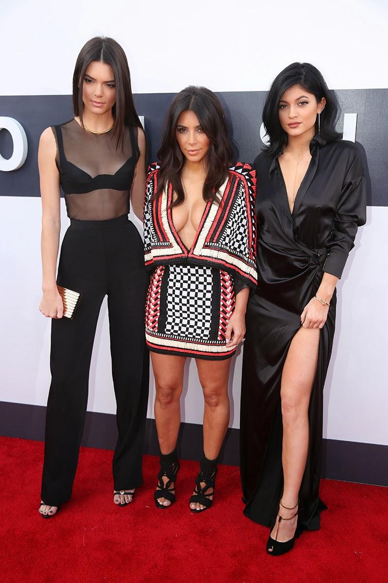 Hermanas Kardashian MTV MVA 2014