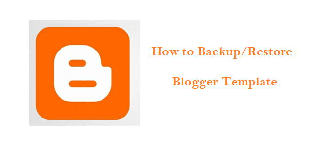 How to add a template in blogger