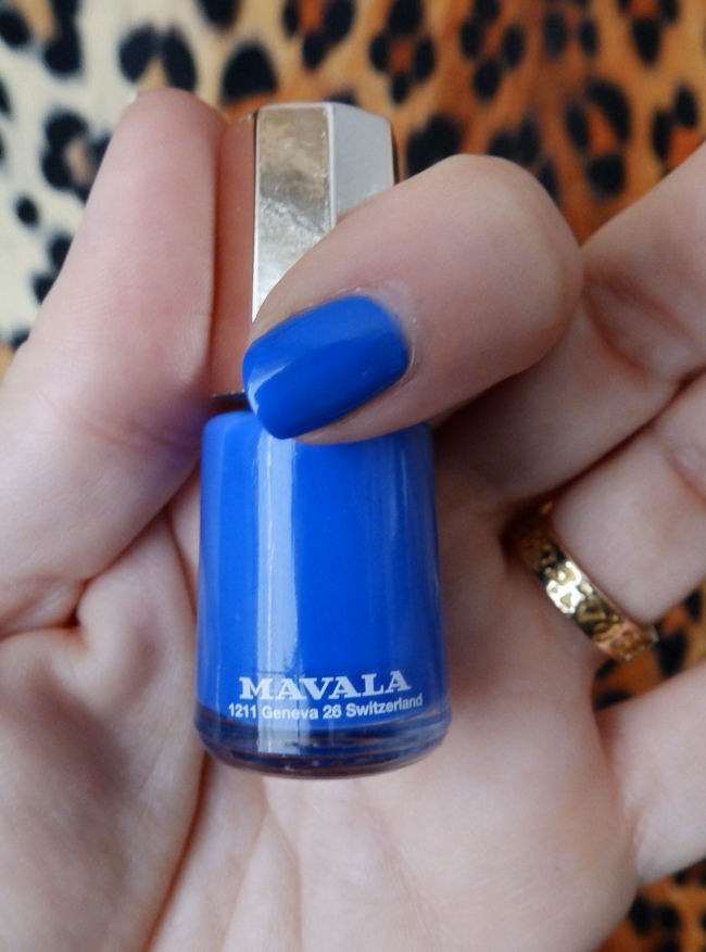 uk style and fashion blog mavala techni-color collection swatches cobalt blue