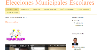 MUNICIPIO ESCOLAR 2014