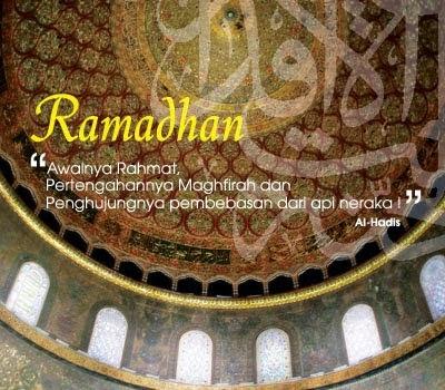 Bulan Suci Ramadhan Tahun 1435 H / 2014 M