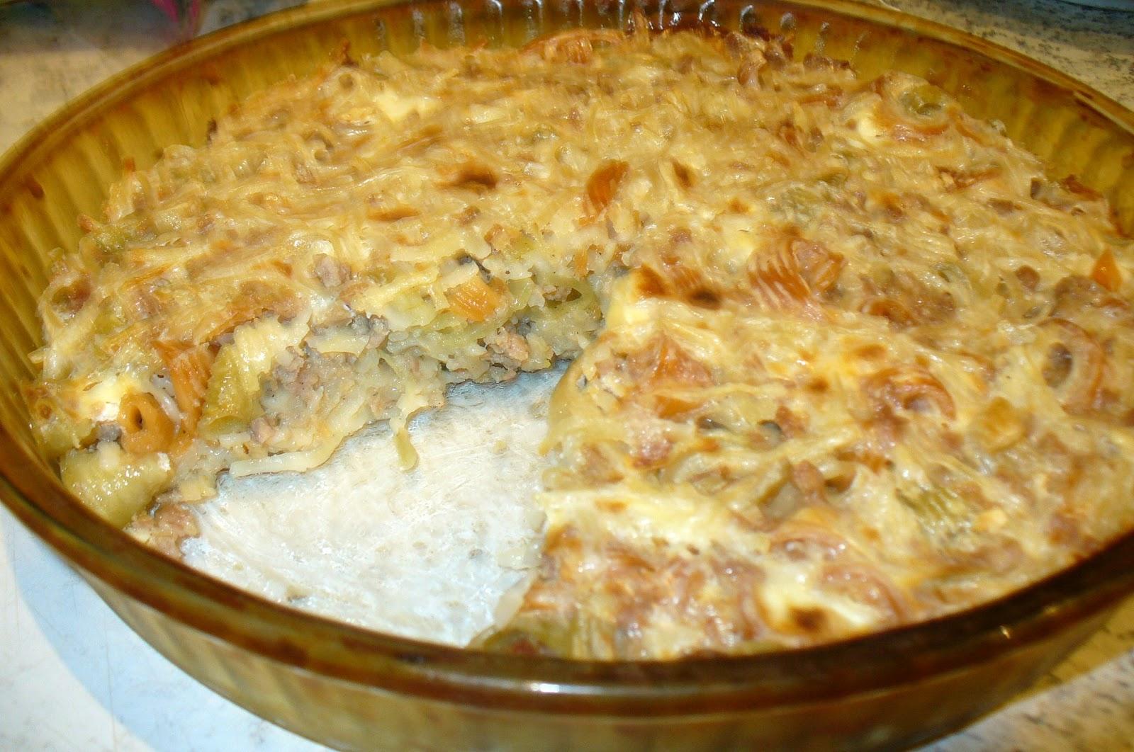 Как сделать лапшевник из вермишели в духовке