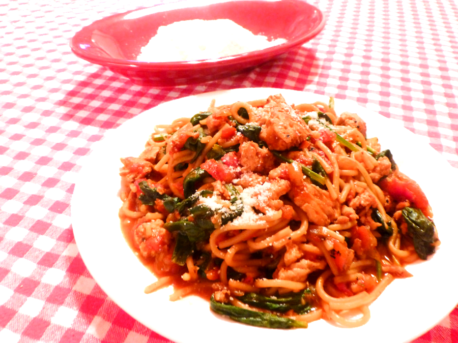 Turkey and spinach pasta recipes