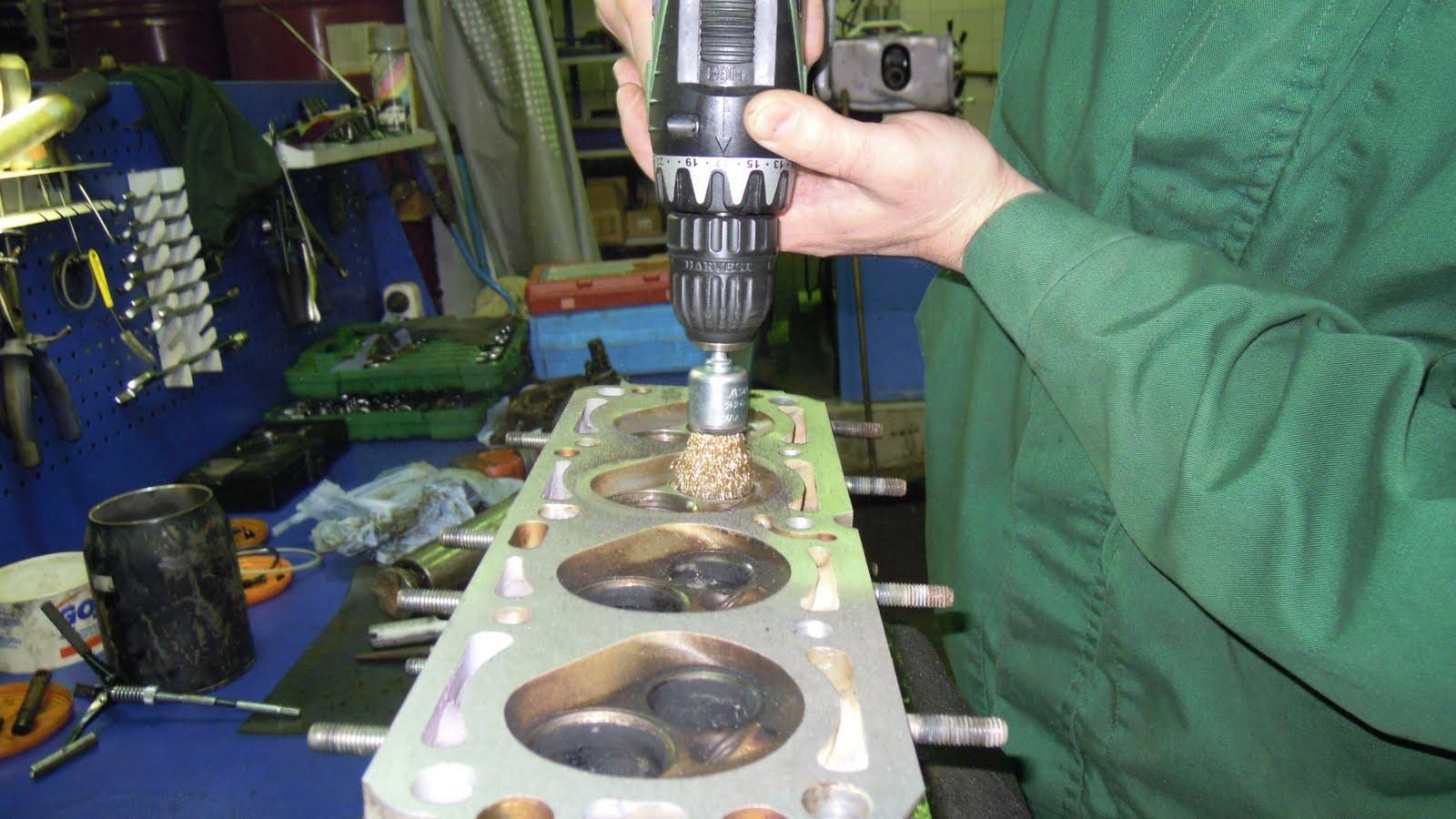 Очистка выпускных клапанов от нагара химическим способом DRIVE 2 45
