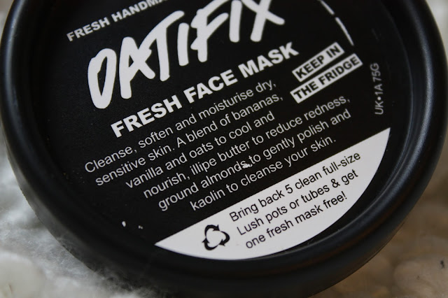 Lush Oatifix Fresh Facemask