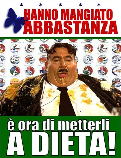 Panta rei spazio libero di gaspare serra for Numero parlamentari italia