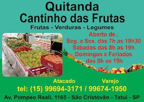 QUITANDA Cantinho das Frutas Frutas - Verduras - Legumes